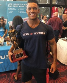 Fitness Model and Men's Physique Competitor Wins National Championship