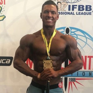 Fitness Model and Men's Physique Competitor Wins Brazilian Championship
