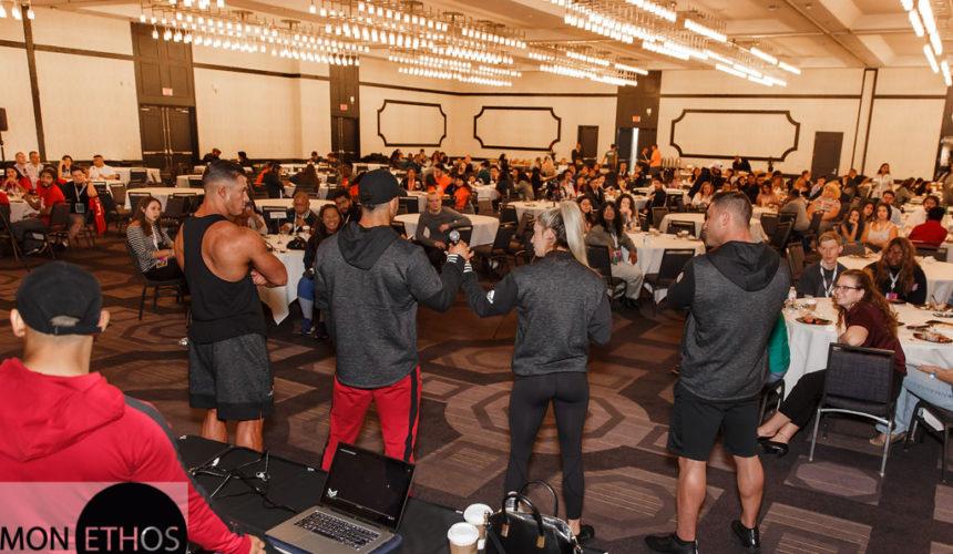 Mon Ethos Pro Athletes Speak to College Students In LA