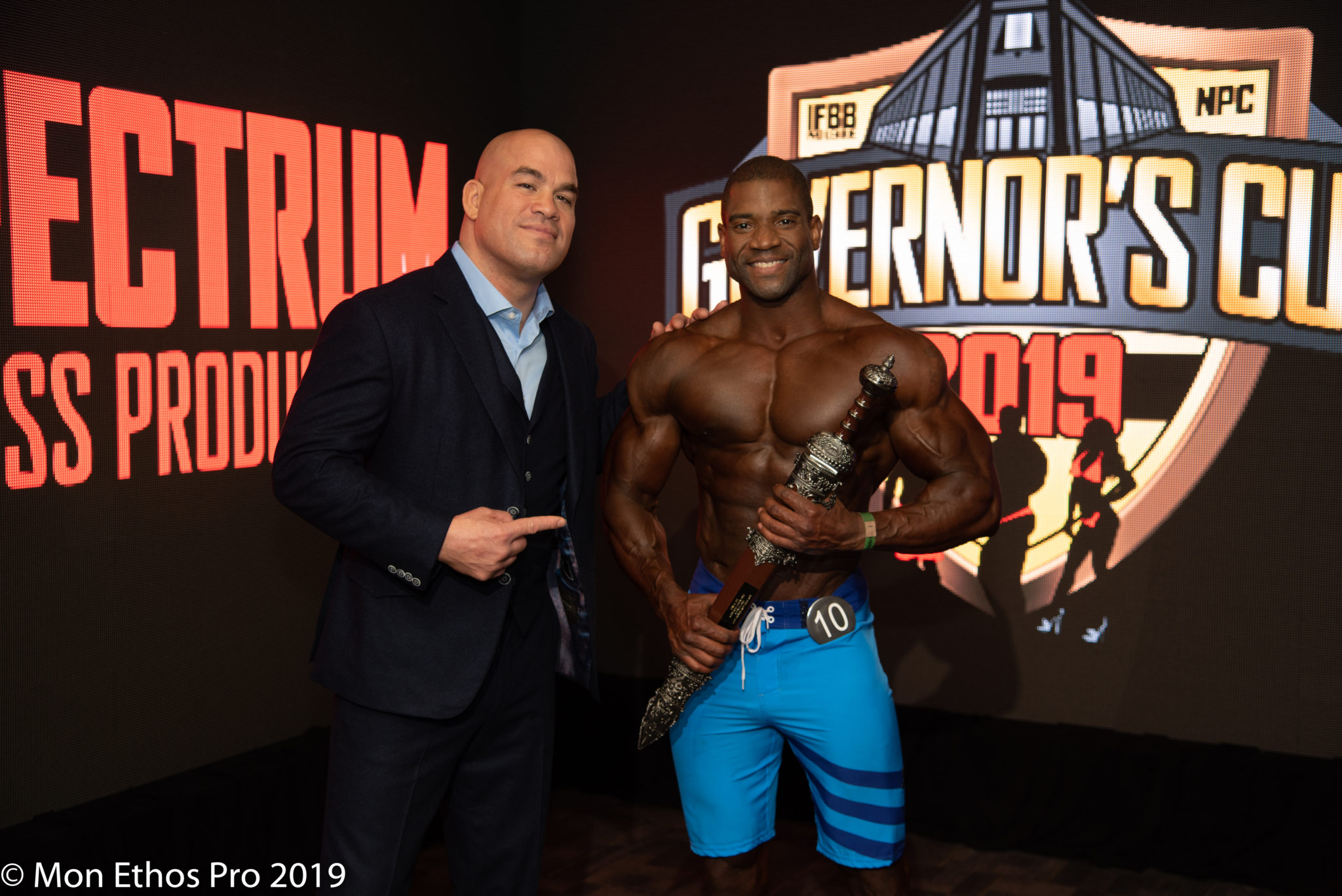 2019 IFBB PRO LEAGUE/NPC Governors Cup with special Mon Ethos Pro guest Tito Ortiz.