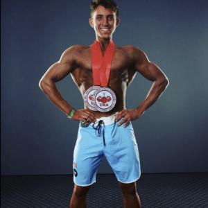 Gilroy, California native Manuel Gandarilla signs with athlete management firm Mon Ethos Pro ahead IFBB/NPC San Jose Championships according to company President David Whitaker