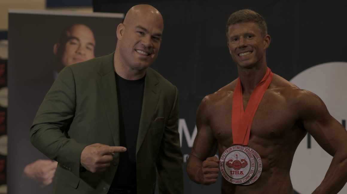 IFBB Pro Dean Balabis interviews Cody Cornell at Golden State 2019
