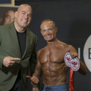 Golden State 2019 winner in 40+ and 45+ Men`s Physique
