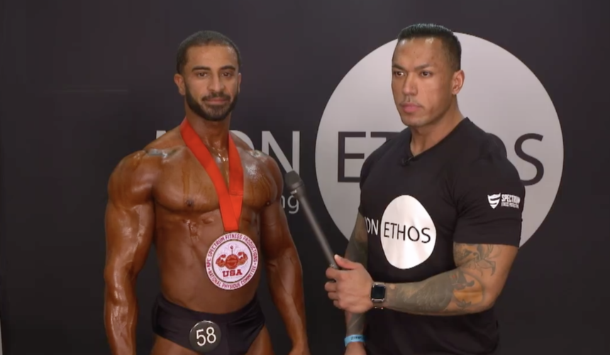 Hamzah Alkordy (@kordy_fitness) placed first in Class A Overall at Golden State 2019