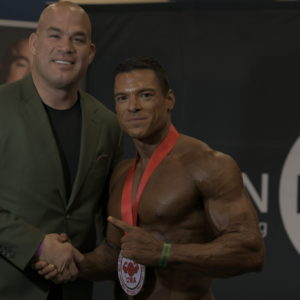 Dr. Matt Villanueva (@mattgvphd) placed first open Men`s Physique A Class