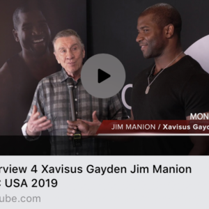 Xavisus Gayden Interviews Jim Manion