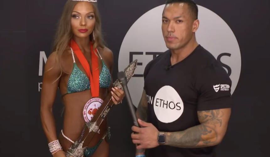 Taylor Dudgeon (@taylorreneefit) won overall bikini at Golden State