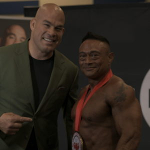 Will Del Carmen @will_del_carmen with our host IFBB Pro Dean Ballabis at Golden State 2019