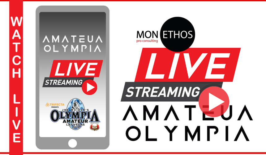 Amateur Olympia Livestream